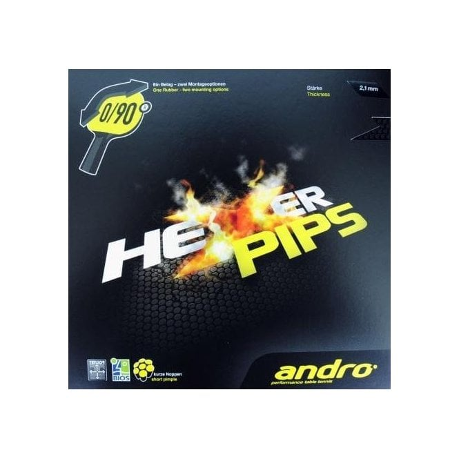 Andro Hexer Pips Table Tennis Rubber