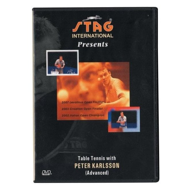 Table Tennis With Peter Karlsson DVD - Advanced
