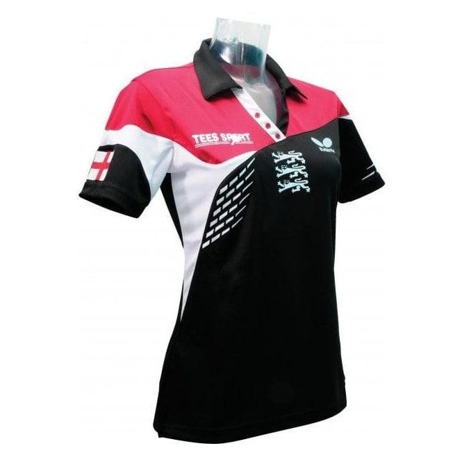 Butterfly England '14 Ladies' Table Tennis Shirt