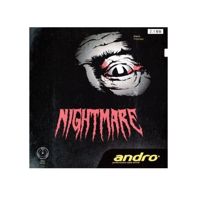 Andro Nightmare Table Tennis Rubber