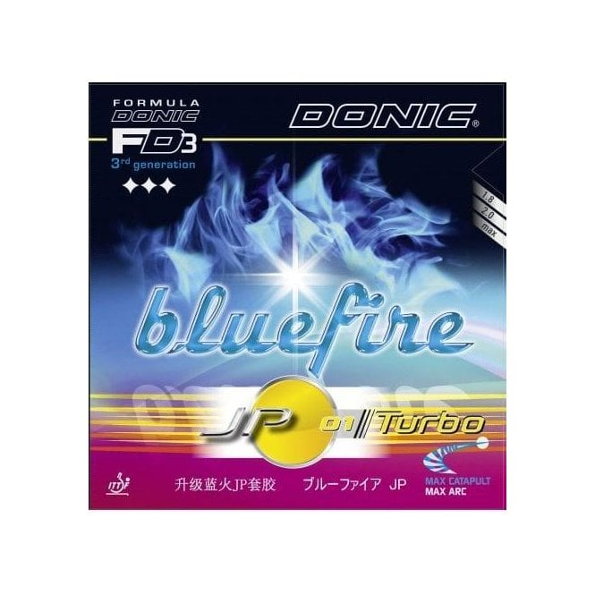 Donic Bluefire JP 01 Turbo Table Tennis Rubber