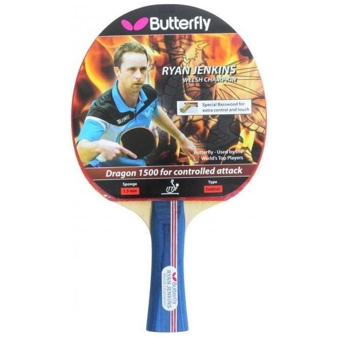 Butterfly Ryan Jenkins Dragon 1500 Table Tennis Bat