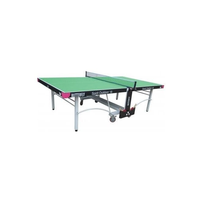 Butterfly Spirit 18 Outdoor Rollaway Table Tennis Table