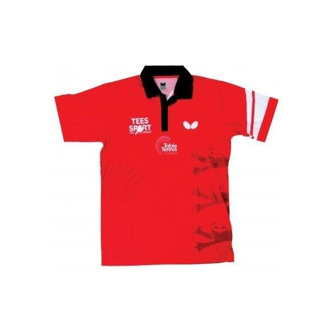 Butterfly England '16 Men's Table Tennis Shirt