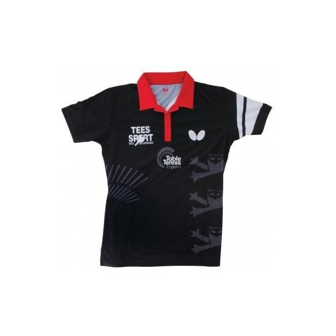 Butterfly England '16 Ladies Table Tennis Shirt