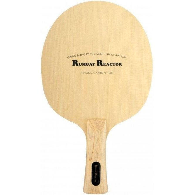 GR Rumgay Reactor OFF Table Tennis Blade