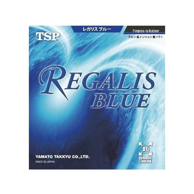 TSP Regalis Blue Table Tennis Rubber