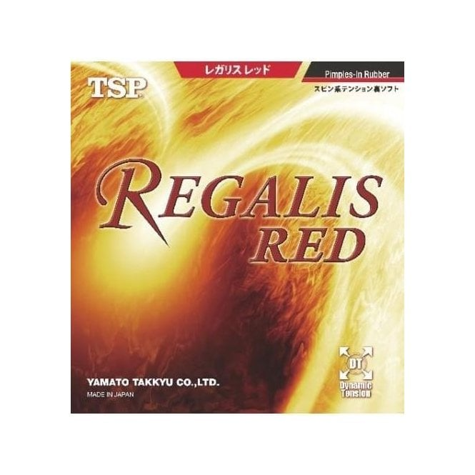 TSP Regalis Red Table Tennis Rubber