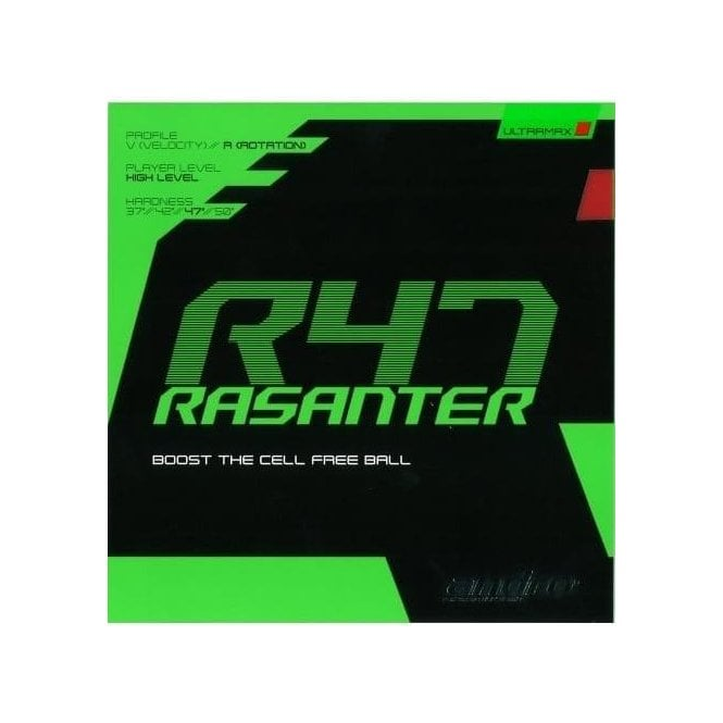 Andro Rasanter R47 Table Tennis Rubber