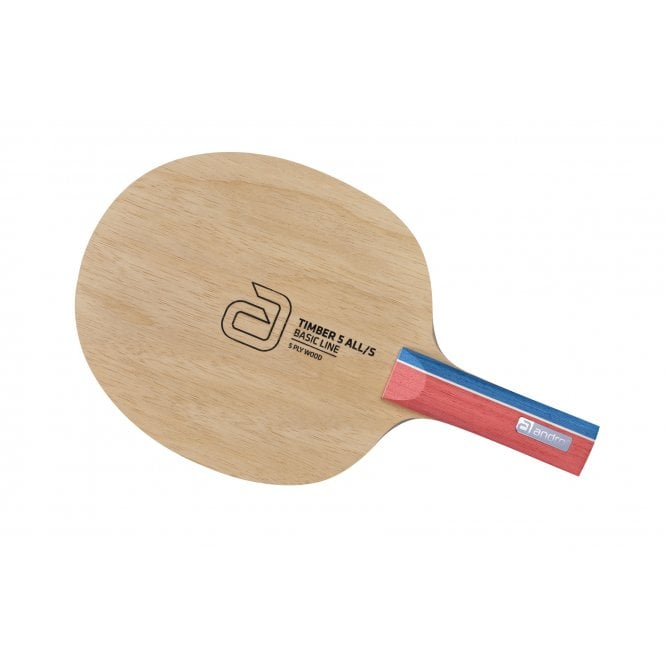 Andro Timber 5 ALL/S Table Tennis Blade
