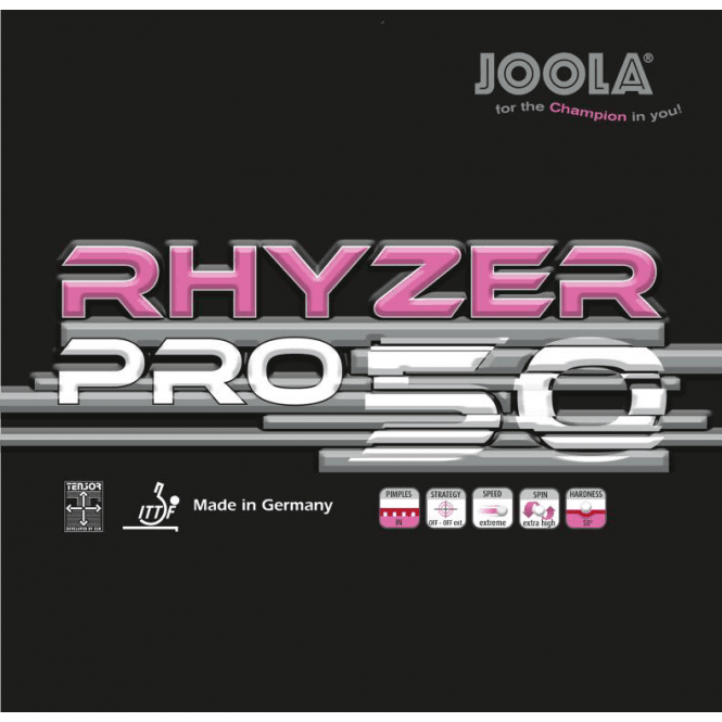Joola Rhyzer Pro 50 Table Tennis Rubber