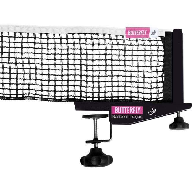 Butterfly National League  Table Tennis net and posts