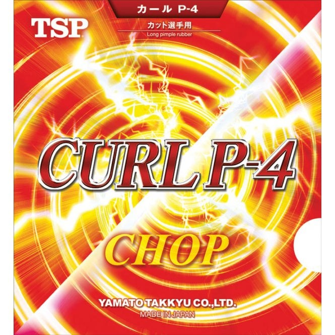 TSP Curl P-4 Chop Table Tennis Rubber