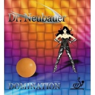 Dr Neubauer Domination Table Tennis Rubber