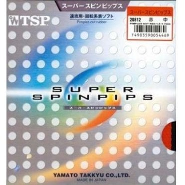 TSP Super Spin Pips Table Tennis Rubber