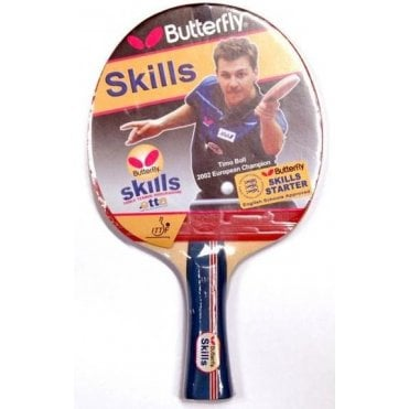 Butterfly Skills Starter Table Tennis Bat
