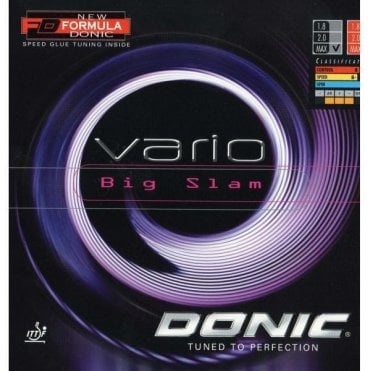 Donic Vario Big Slam Table Tennis Rubber
