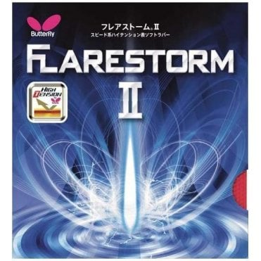 Butterfly Flarestorm II Table Tennis Rubber
