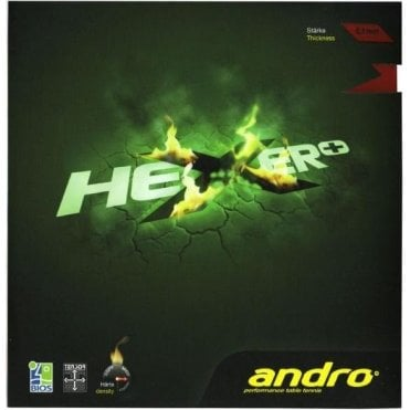 Andro Hexer+ Table Tennis Rubber