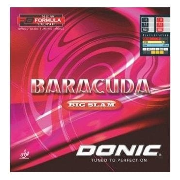 Donic Baracuda Big Slam Table Tennis Rubber
