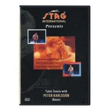 Table Tennis With Peter Karlsson DVD - Basic
