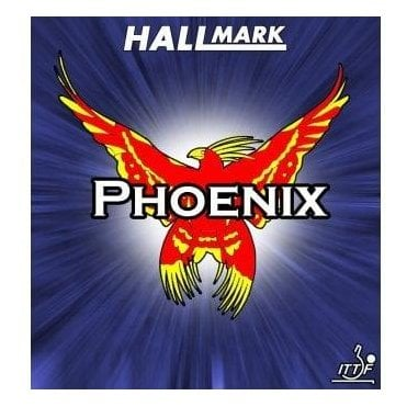 Hallmark Phoenix Table Tennis Rubber