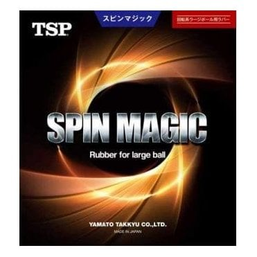 TSP Spin Magic Table Tennis Rubber