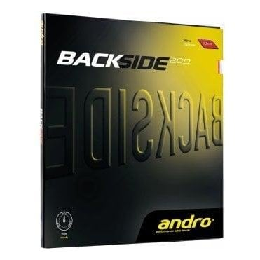 Andro Backside 2.0 D Table Tennis Rubber