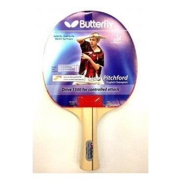 Butterfly Pitchford Drive 1500 Table Tennis Bat