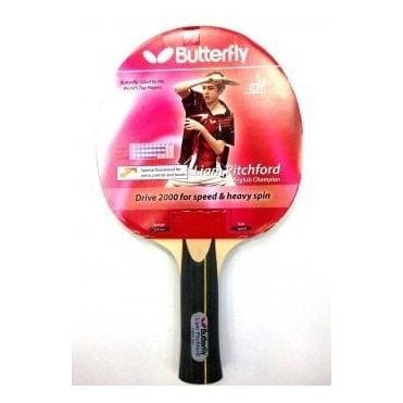 Butterfly Pitchford Drive 2000 Table Tennis Bat