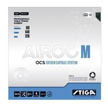 Stiga Airoc M Table Tennis Rubber