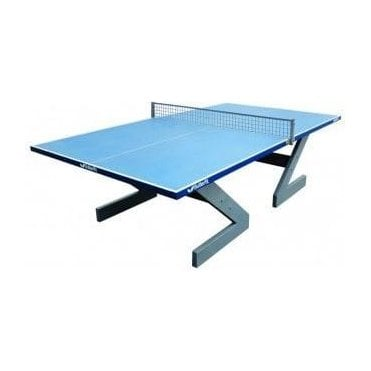 Butterfly City Concrete Table Tennis Table Blue