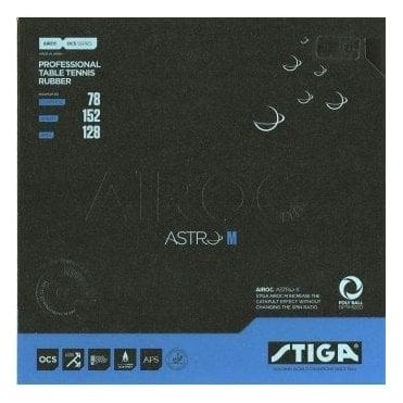 Stiga Airoc Astro M Table Tennis Rubber
