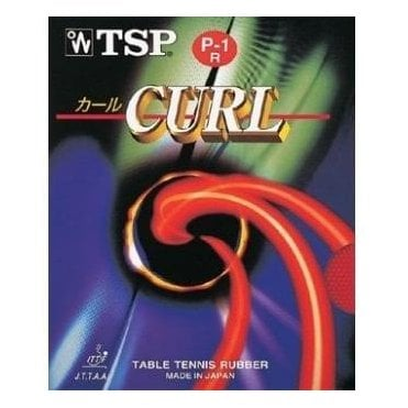 TSP Curl P-1R Table Tennis Rubber