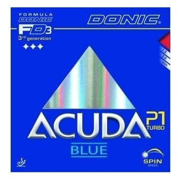 Donic Acuda Blue P1 Turbo Table Tennis Rubber