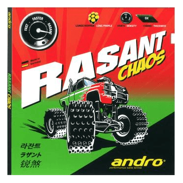 Andro Rasant Chaos Table Tennis Rubber
