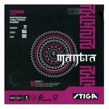 Stiga Mantra M Table Tennis Rubber