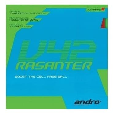 Andro Rasanter V42 Table Tennis Rubber