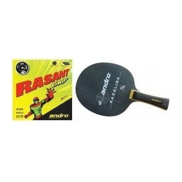 Andro Baseline-Rasant Grip Table Tennis Bat
