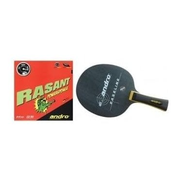 Andro Baseline-Rasant Powersponge Table Tennis Bat