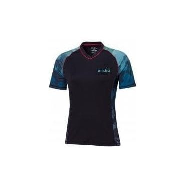 Andro Spencer Women Table Tennis Shirt