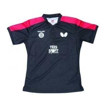 Butterfly England '18 Ladies Table Tennis Shirt