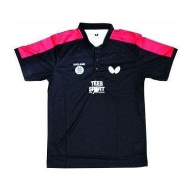 Butterfly England '18 Men's Table Tennis Shirt
