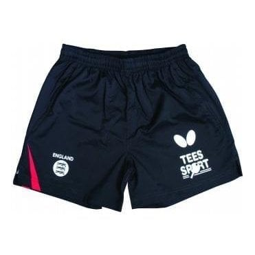 Butterfly England '18 Table Tennis Shorts