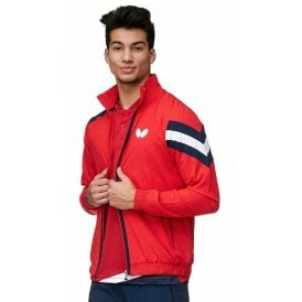 Butterfly Santo Table Tennis Tracksuit Jacket