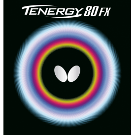 Butterfly Tenergy 80FX Table Tennis Rubber 80 FX