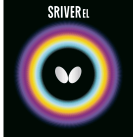 Butterfly Sriver EL Rev Table Tennis Rubber