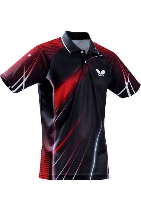 Butterfly streak table tennis shirt clothing towels for Table tennis shirts butterfly
