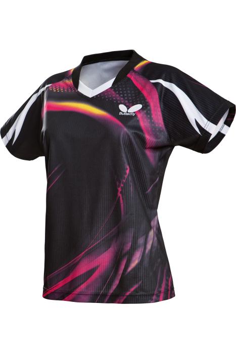 Butterfly Azani Ladies Table Tennis Shirt Clothing