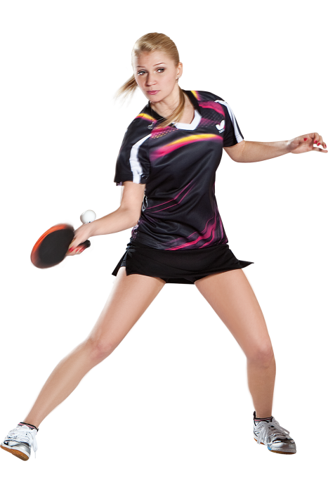Butterfly Azani Ladies Table Tennis Shirt Clothing